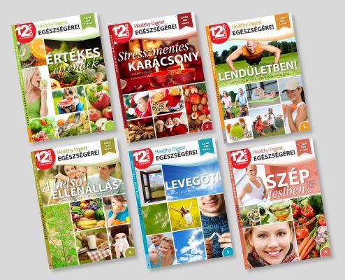 Reader's Digest - 12 lépés kiadvány - boritók