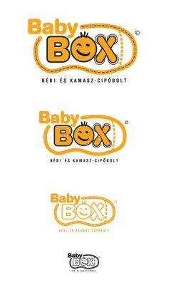 Baby Box - Cipőkereskedés logó design