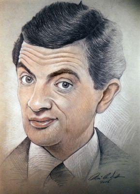 Mr. Bean - Portrérajz