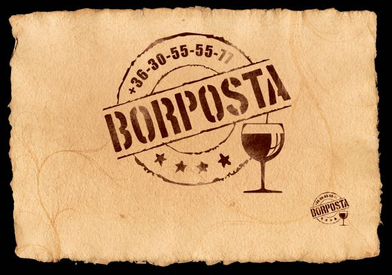 Borposta - Logó design variáció