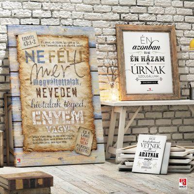 Biblia idézetek vintage stílusban