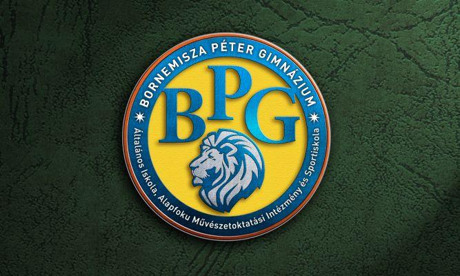 Bornemissza Péter Gimnázium  - logó látvány