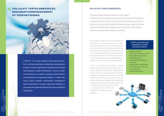 CNW - prospektus design 2012