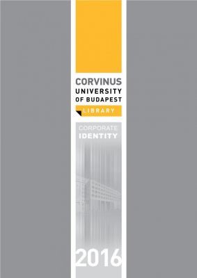 Corvinus Egyetemi Könyvtár arculata - Angol verzió
