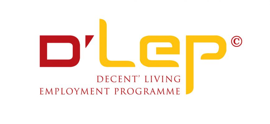 D'LEP - logó design
