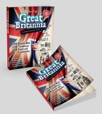 Great Britannia  - könyvborító design