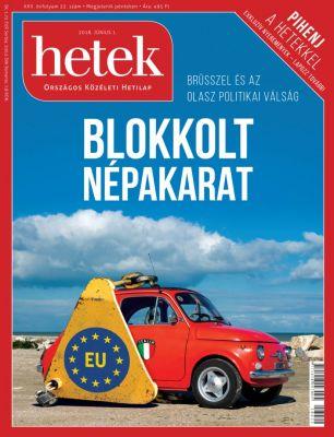 HETEK - Országos Közéleti Hetilap  - Borító design