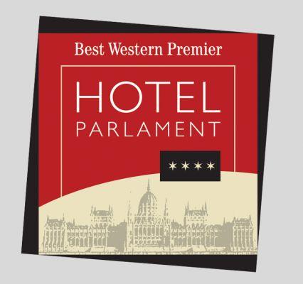 Hotel Parlament - Logó design