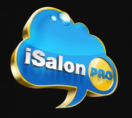 iSalon - logó design 3D