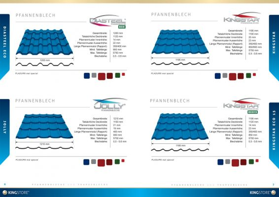King Store - Prospektus design - Swájci kiadás