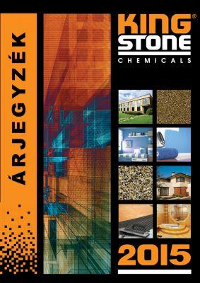 King Stone - Árjegyzék katalógus boritó 2015