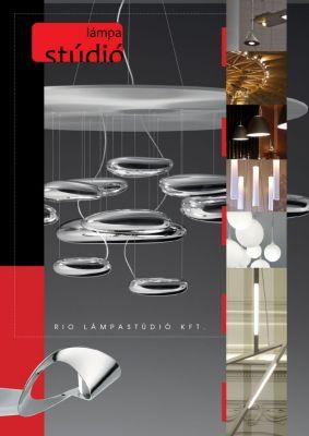 Rio Lámpastúdió - Prospektus design - boritó
