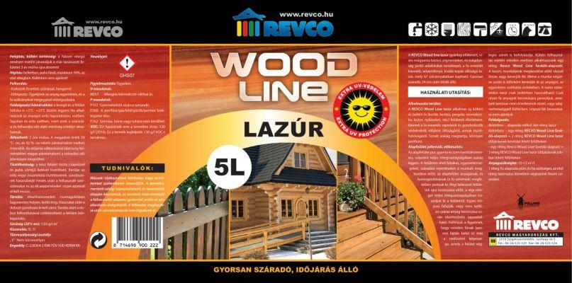 Revco Wood Line -  falazur cimke