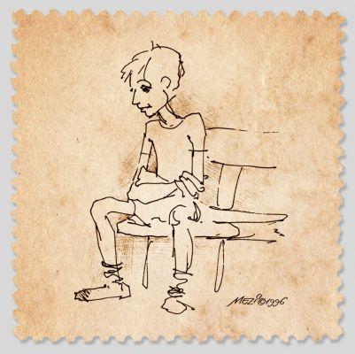 A magányos fiú - illusztráció