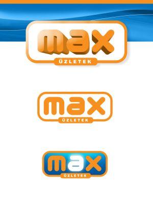 MAX üzletek - logó design
