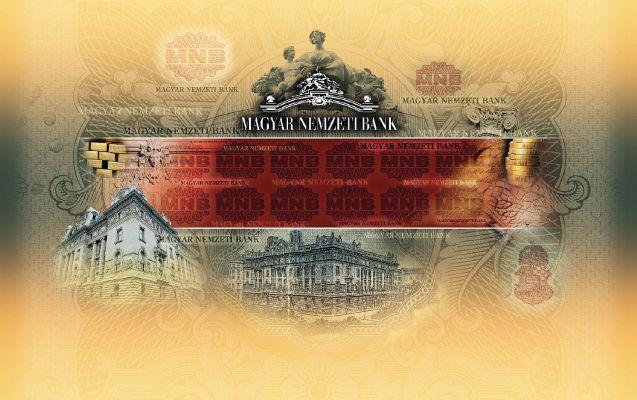 Magyar Nemzeti Bank - sajtófal design 2008-2010