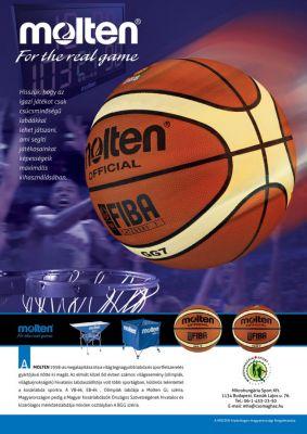 Molten kosárlabdák - hirdetés design