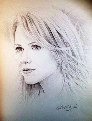 Portré rajzolás - www.ceruzagaleria.hu