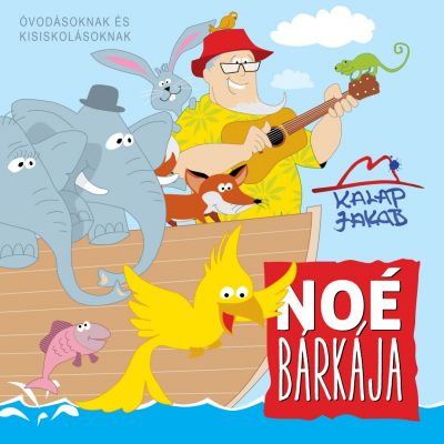 Kalap Jakab - NOÉ Bárkája - CD borito design - front