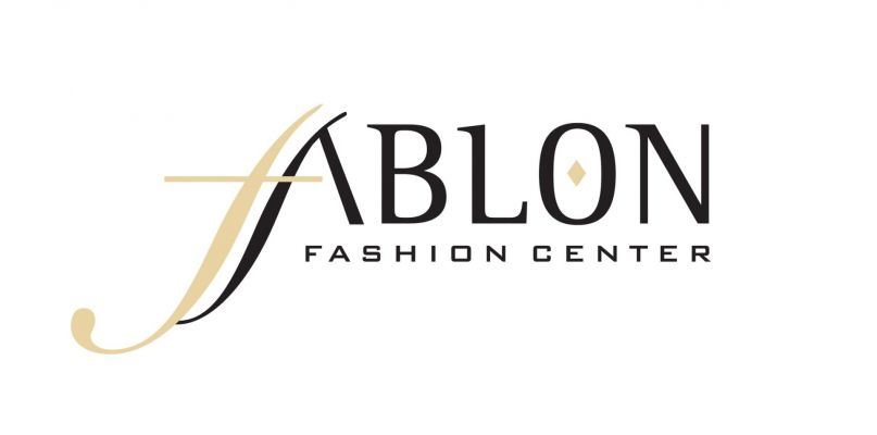 Ablon Fashion Center - logó design