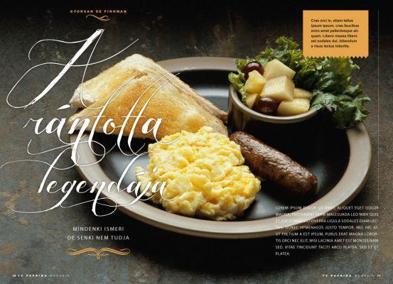 Paprika Magazin - layout design