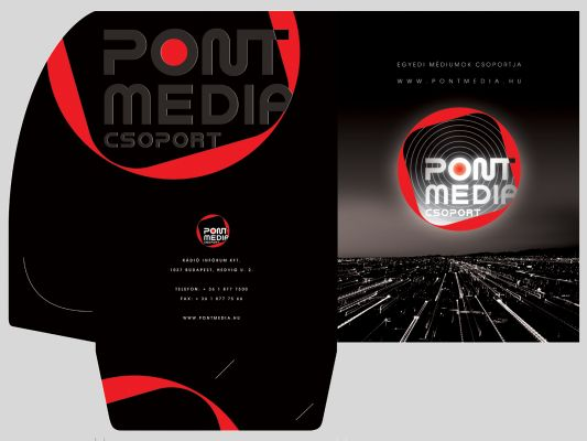 Pont Média Csoport  - mappa design 2008
