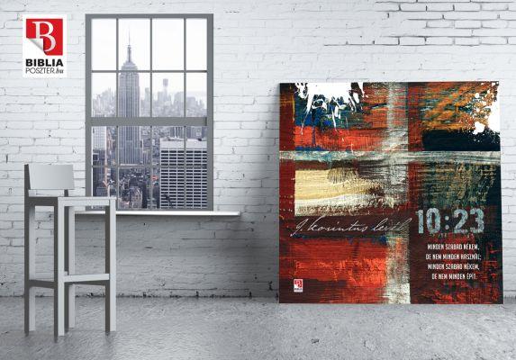 New York - Bibliaidézet a festményen - www.bibliaposzter.hu