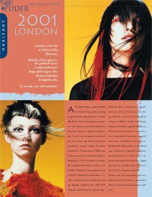 Olló és Púder - Magazin design