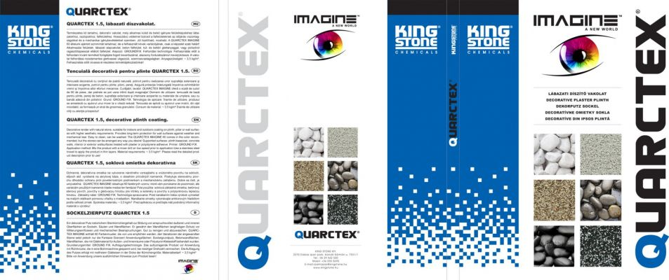 King Stone / Quarctex - Prospektus Design