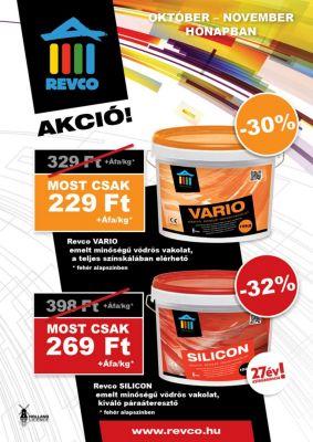 Revco Akciós plakát design