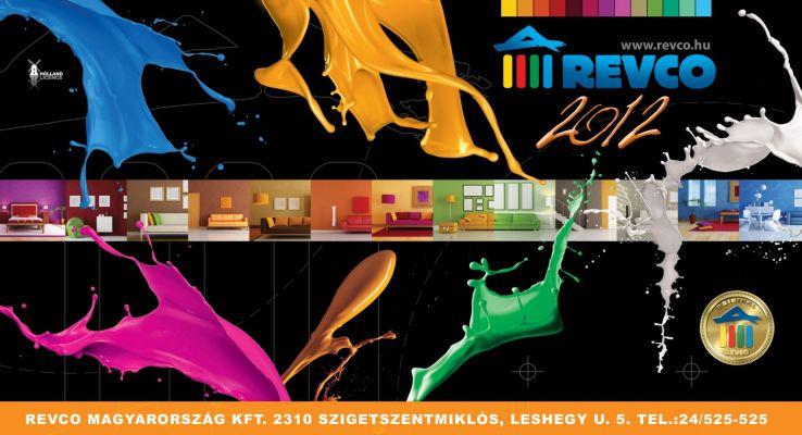 Revco Naptár  - fejléc design 2012