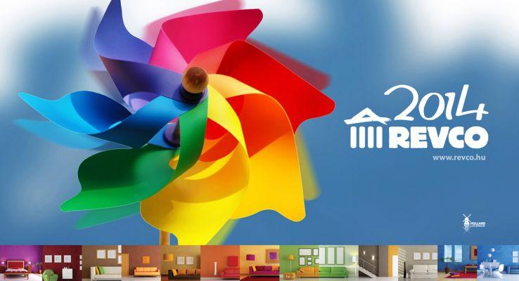 Revco Naptár terv  - fejléc design 2014