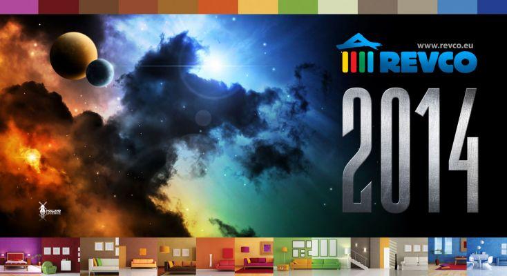 Revco Naptár  - fejléc design 2014