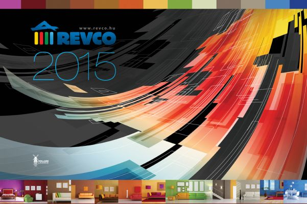 Revco Naptár  - fejléc design 2015