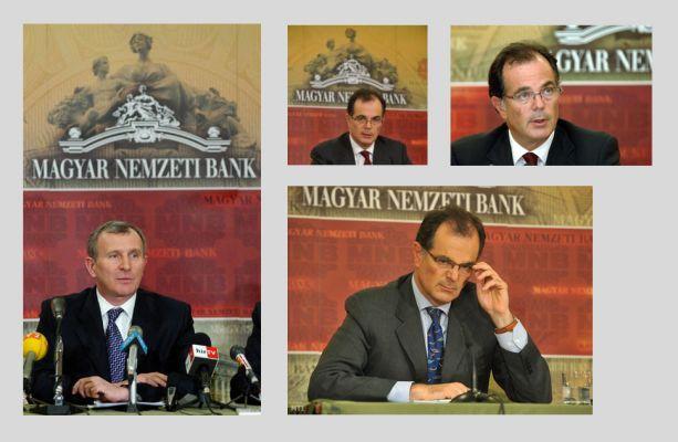 Magyar Nemzeti Bank - sajtófala