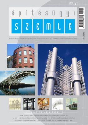 Építésügyi Szemle - kiadvány boritó design