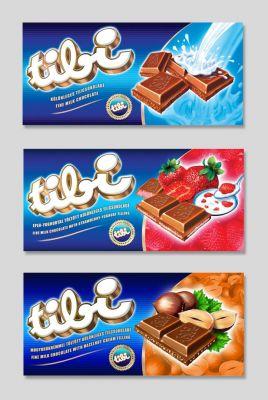 Tibi Csoki - csomagolás tervek - 2002