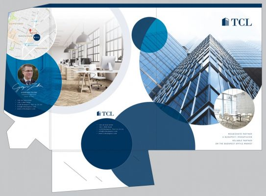 TCL - Mappa design - front oldalak kiterítve