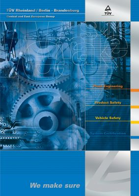 TÜV - Prospektus boritó design 2. - 2000