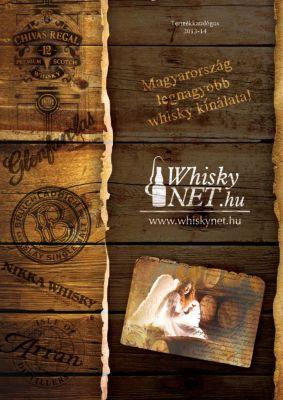 Whiskynet - prospektus borító design 2.