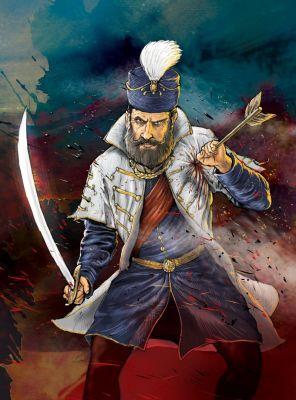 1566 - Dzsihád Magyarország Ellen - Boritótohoz készűlt rajz